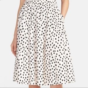 Flamingo Dot Skirt